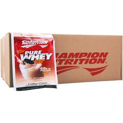 CHAMPION NUTRITION Pure Whey Protein Stack Cookies & Cream 60 pckts