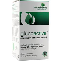 FUTUREBIOTICS GlucoActive - Cinnamon Extract 60 vcaps