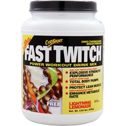 CYTOSPORT Fast Twitch Lightning Lemonade 2.04 lbs