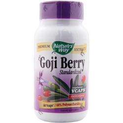 Nature's Way Goji Berry - Standardized Extract 60 vcaps