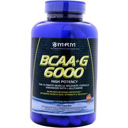 MRM BCAA plus G 6000 150 caps