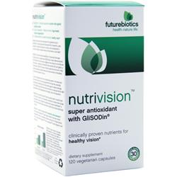 FUTUREBIOTICS Nutrivision with GliSODin 120 vcaps