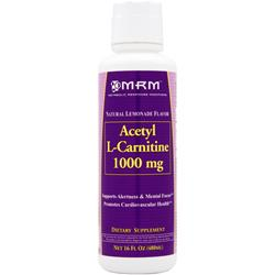 MRM Acetyl L-Carnitine Liquid (1000mg) Natural Lemonade 16 fl.oz