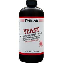 TWINLAB Liquid Yeast 16 fl.oz