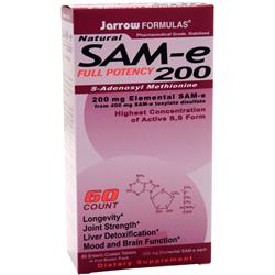 JARROW SAM-e 200 60 tabs