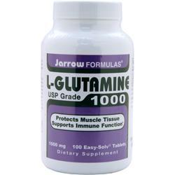 JARROW L-Glutamine 1000 100 tabs