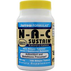 JARROW NAC Sustain 100 tabs