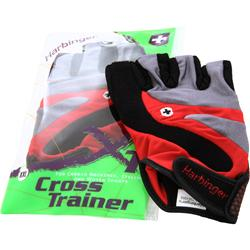 HARBINGER Cross Trainer Glove Black/Red/Charcoal (XXL) 2 glove