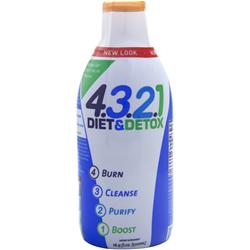 HEALTH FROM THE SUN 4321 Diet & Detox Liquid 16.9 fl.oz