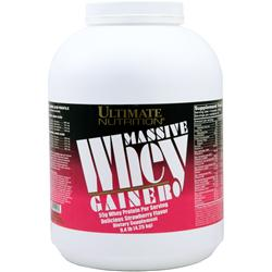 ULTIMATE NUTRITION Massive Whey Gainer Strawberry 9.4 lbs