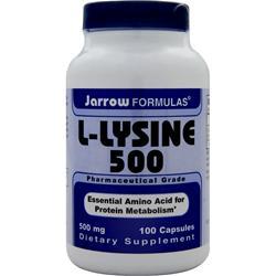 JARROW L-Lysine 500 100 caps