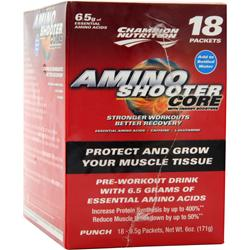 CHAMPION NUTRITION Amino Shooter Core plus Punch 18 pckts