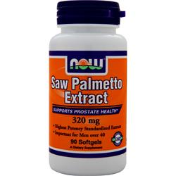 NOW Saw Palmetto Extract (320mg) 90 sgels