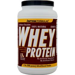 JARROW 100% Natural Whey Protein Caribbean Chocolate 2 lbs