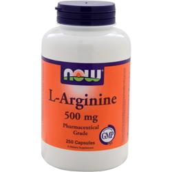 NOW L-Arginine (500mg) 250 caps
