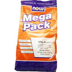 NOW Whey Protein Vanilla (Mega Pack) 10 lbs