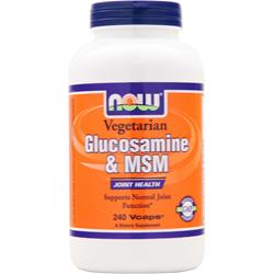 Now Vegetarian Glucosamine & MSM 240 vcaps