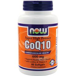 NOW CoQ10 (600mg) 60 sgels