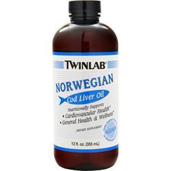 TwinLab Norwegian Cod Liver Oil Liquid 12 fl.oz