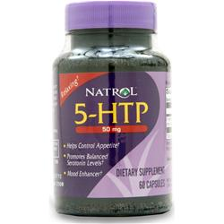 NATROL 5-HTP (50mg) 60 caps