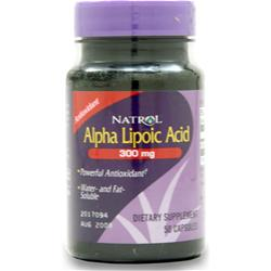 NATROL Alpha Lipoic Acid (300mg) 50 caps