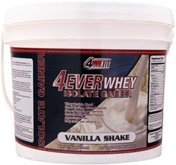 4 EVER FIT 4Ever Whey Isolate Gainer Vanilla Shake 8 lbs