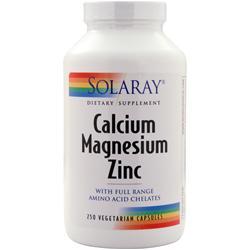 SOLARAY Calcium Magnesium Zinc 250 vcaps