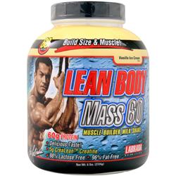 LABRADA Lean Body Mass 60 Vanilla Ice Cream 6 lbs