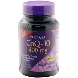 NATROL Coenzyme Q-10 (400mg) 30 sgels