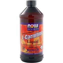 Now L-Carnitine Liquid (3000mg) Citrus 16 fl.oz