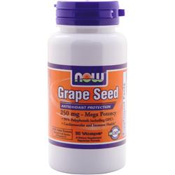 NOW Grape Seed (250mg) 90 vcaps