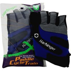 Harbinger Paddle Cycle Train Glove Cobalt Blue/Charcoal(XXL) 2 glove