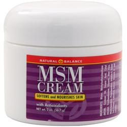 Natural Balance MSM Cream 2 oz