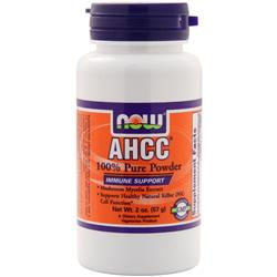 NOW 100% Pure AHCC Powder 2 oz