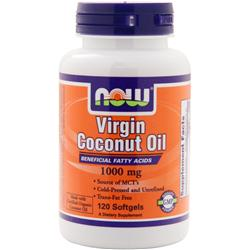 NOW Virgin Coconut Oil (1000mg) 120 sgels