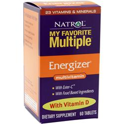 NATROL My Favorite Multiple Energizer 60 tabs
