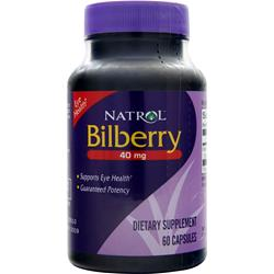 Natrol Bilberry (40mg) 60 caps