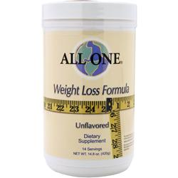 ALL ONE Weight Loss Formula Unflavored 14.8 oz