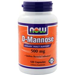 NOW D-Mannose (500mg) 120 caps