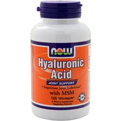 Now Hyaluronic Acid 120 vcaps