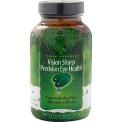 IRWIN NATURALS Vision Sharp Precision Eye Health 42 sgels