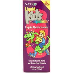 Natrol Liquid Kid's Companion Tropical Berry 8 fl.oz
