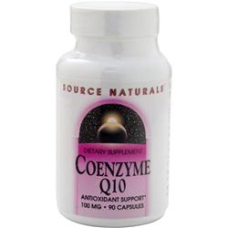 SOURCE NATURALS Coenzyme Q10 (100mg) 90 caps