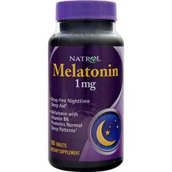 NATROL Melatonin (1mg) 180 tabs