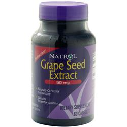 NATROL Grape Seed Extract (50mg) 60 caps
