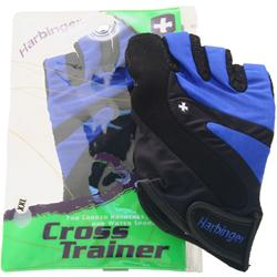 Harbinger Cross Trainer Glove Electric Blue/Black (XXL) 2 glove