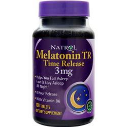 NATROL Melatonin - Time Released (3mg) 100 tabs