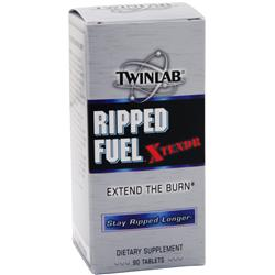 TWINLAB Ripped Fuel Xtendr Best by 11/14 90 tabs