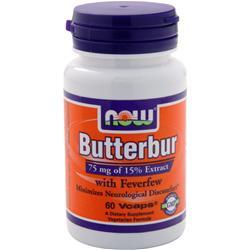 NOW Butterbur 60 vcaps