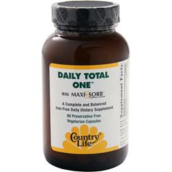 COUNTRY LIFE Daily Total One - Iron Free 60 vcaps